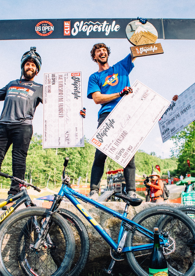 2019 CLIF Slopestyle Podium