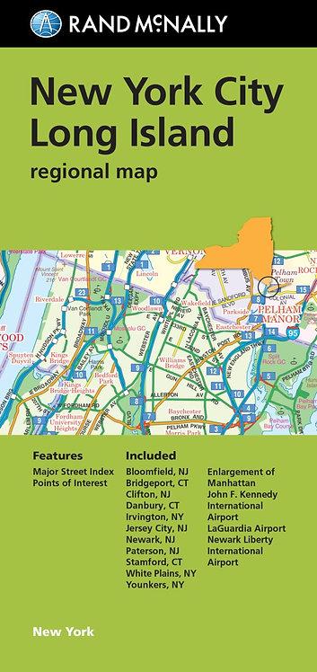 Rand McNally maps + compass