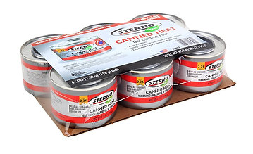 Sterno 20504 7-Ounce Entertainment Cooking Fuel, 6-Pack