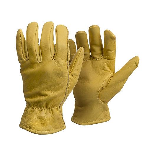 American Made Genuine Elkskin Leather Work Gloves