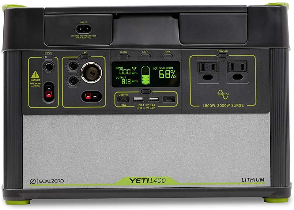 Goal Zero's Yeti 1400 is the future of emergency power