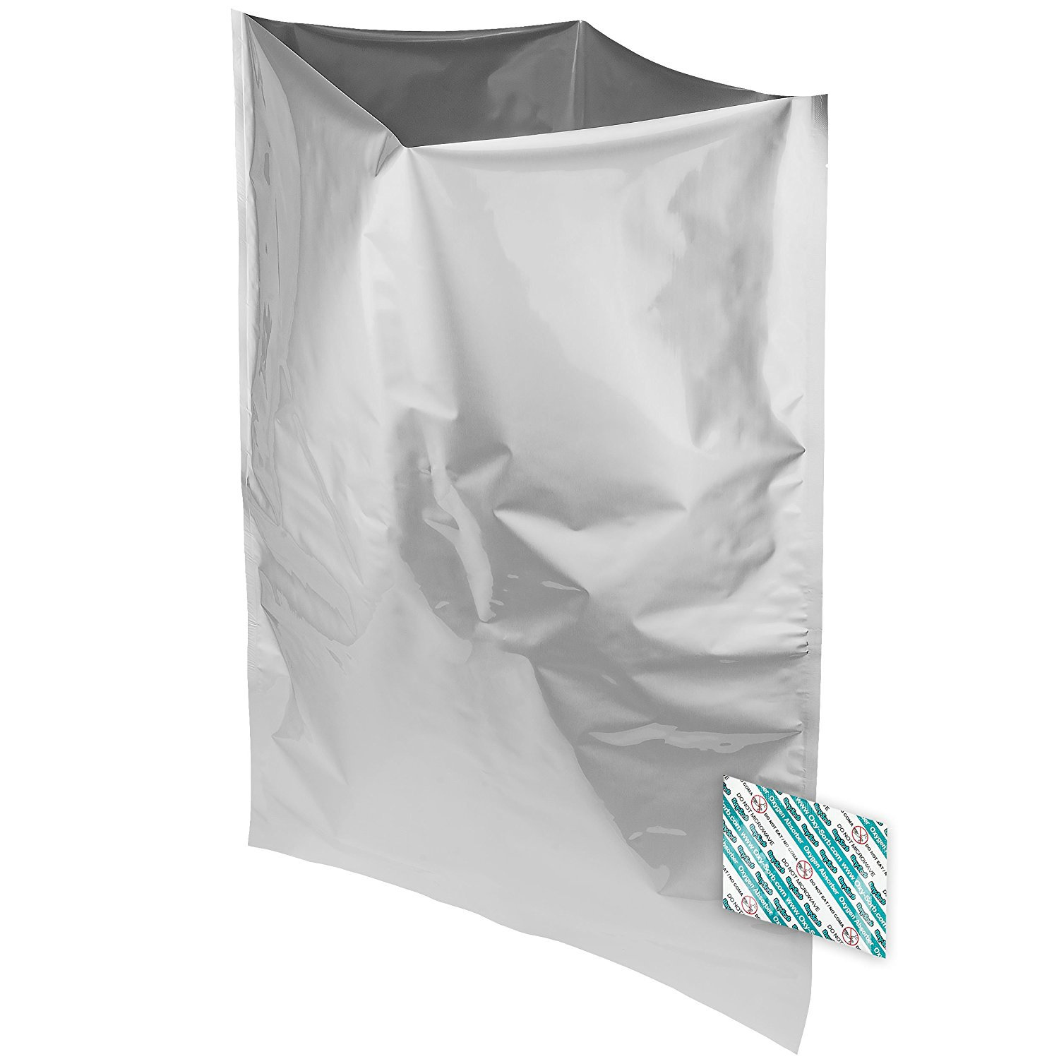 5 Gallon Mylar Bags And 10 2000cc Oxy Sorb Oxygen