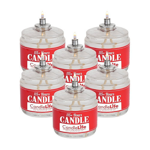 Candlelife Emergency Survival Candle (Set of 6)