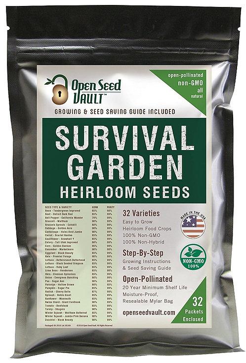 Open Seed Vault 15,000 Heirloom Vegetable Seeds