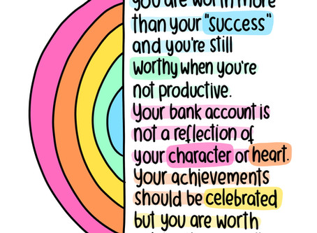 "You Are Worth More Than Your ""Success"""