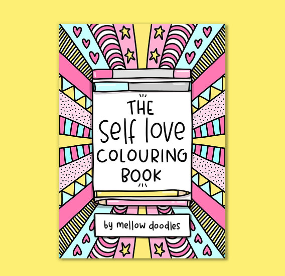 The Self Love Colouring Book