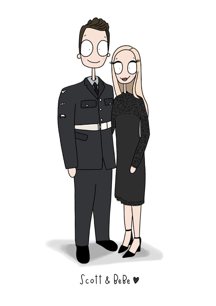 Full Length Illustration