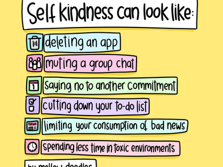 Self Kindness Ideas