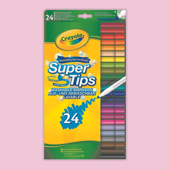 Crayola Colouring Pens - 24 Pack