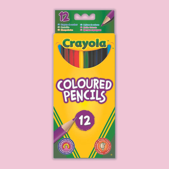 Crayola Colouring Pencils - 12 Pack