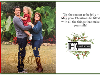 Merry Christmas from Hamrick Law!