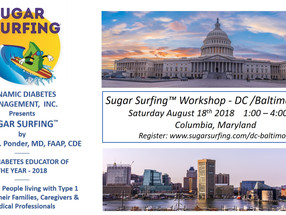 Last Call for Baltimore!  Sugar Surfing Workshop this weekend.