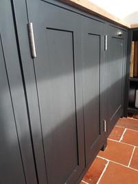 Shaker kitchen cupboards