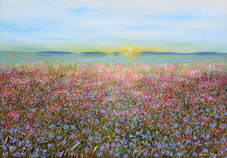 Flores e o Mar