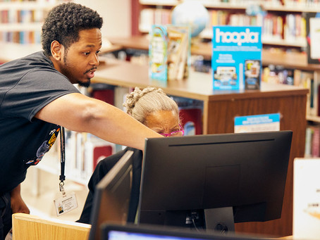America has digital skills gap.  Libraries can help fix it.