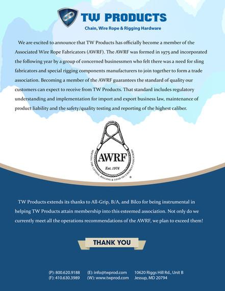 AWRF Membership