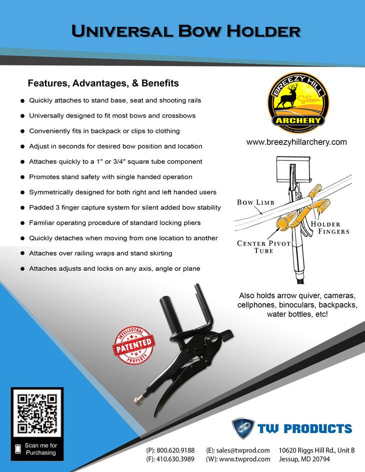 OEM Patented Bow Holder