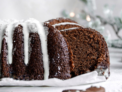 The Best Gingerbread Cake (Gluten Free, Dairy Free)