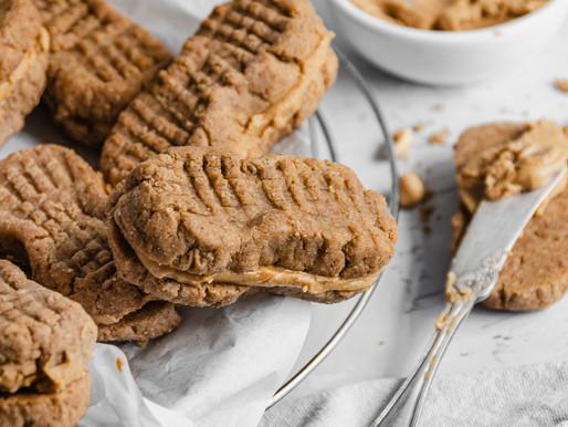 Copycat Nutter Butters (Gluten Free, Vegan)