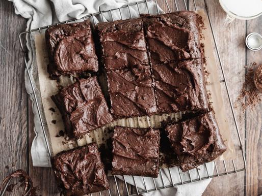 Paleo Double Chocolate Brownies (Dairy Free, Gluten Free)