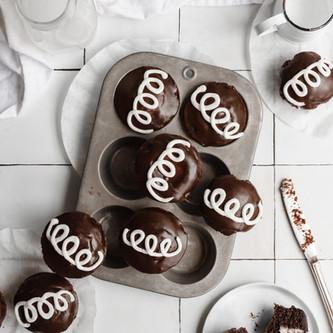 Homemade Hostess Cupcakes (Paleo, Gluten Free, Dairy Free)