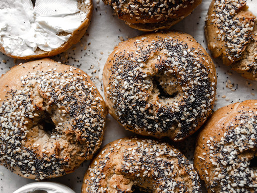 Paleo New York Style Bagels (Grain Free, Nut Free)