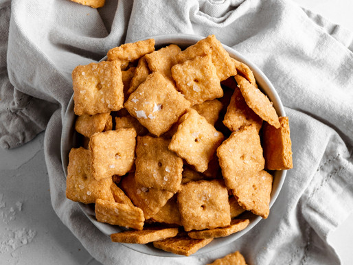 Copycat Cheez-Its (Vegan, Paleo & Low Fodmap)