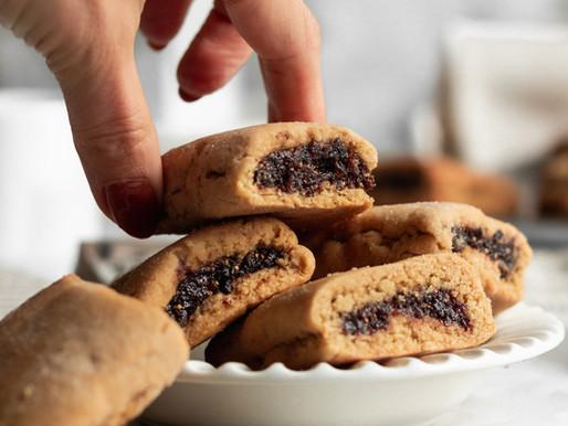 Paleo Homemade Fig Newtons (Gluten Free, Dairy Free)