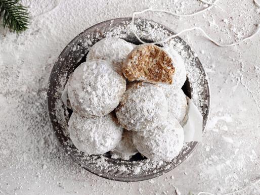 Snowball Cookies (Paleo & Vegan)