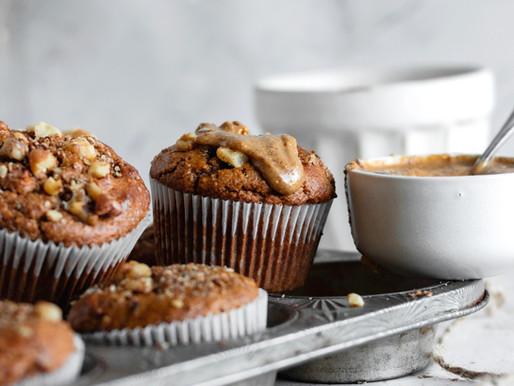 Paleo Sweet Potato Muffins (Grain Free, Dairy Free)