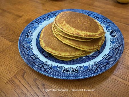 Delicious High Protein Pancakes!