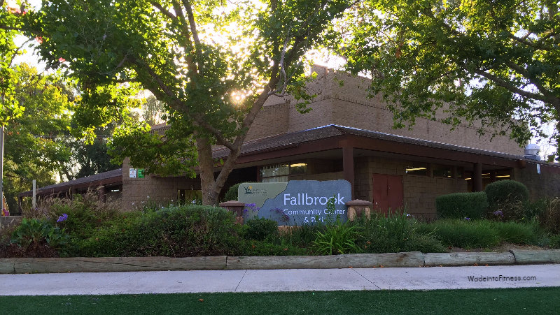 Fallbrook Community Center location of Wade into Fitness Classes