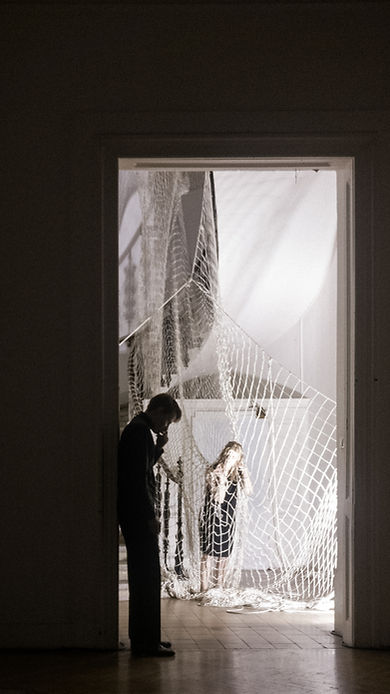 Marlene Hauser, Felix Oitzinger Elektra Orest Regie: Lukas Michelitsch © Lukas Michelitsch