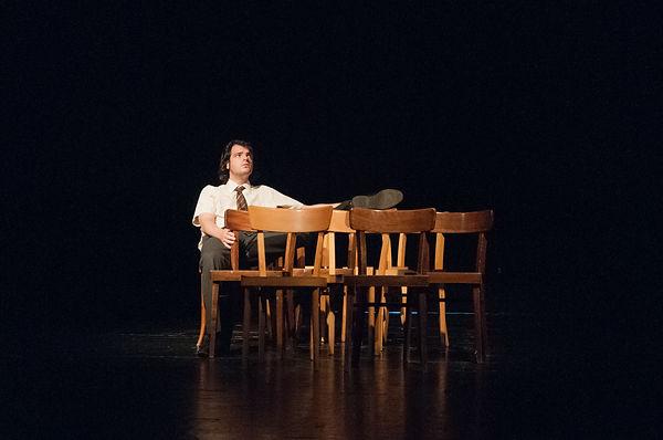 Leo Hugger Der Fremde Regie: Lukas Michelitsch @ Christina Tafernerg