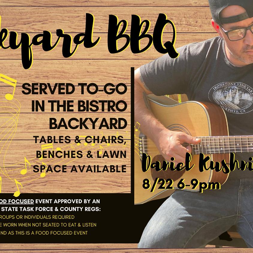 Backyard BBQ with Daniel Kushnir!