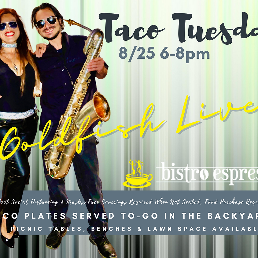 Taco Tuesday featuring Goldfish Live!