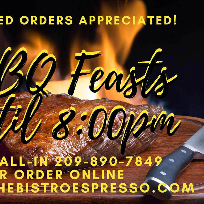 BBQ Feast Friday!