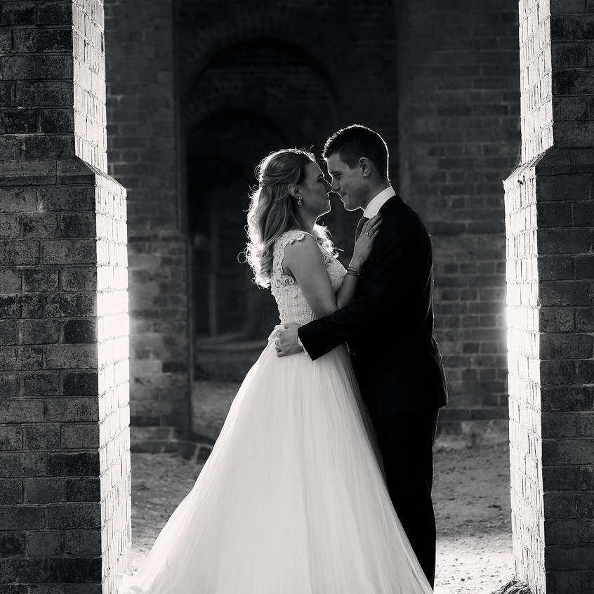 wedding - bride and groom photo