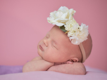 How much editing goes into Newborn photos we take