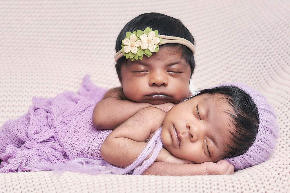 newborn twins Happy Kids Photo Studio
