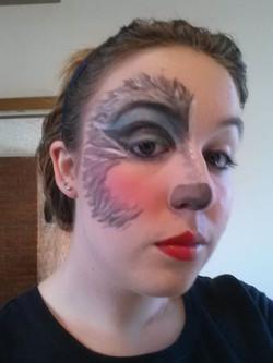 """Shrek"" Big Bad Wolf Makeup"