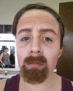 Edwardian goatee