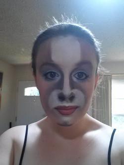 """""""Shrek"""" Donkey Makeup"""