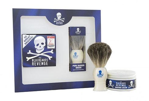 The Bluebeards Revenge Barberkrem og kost sett