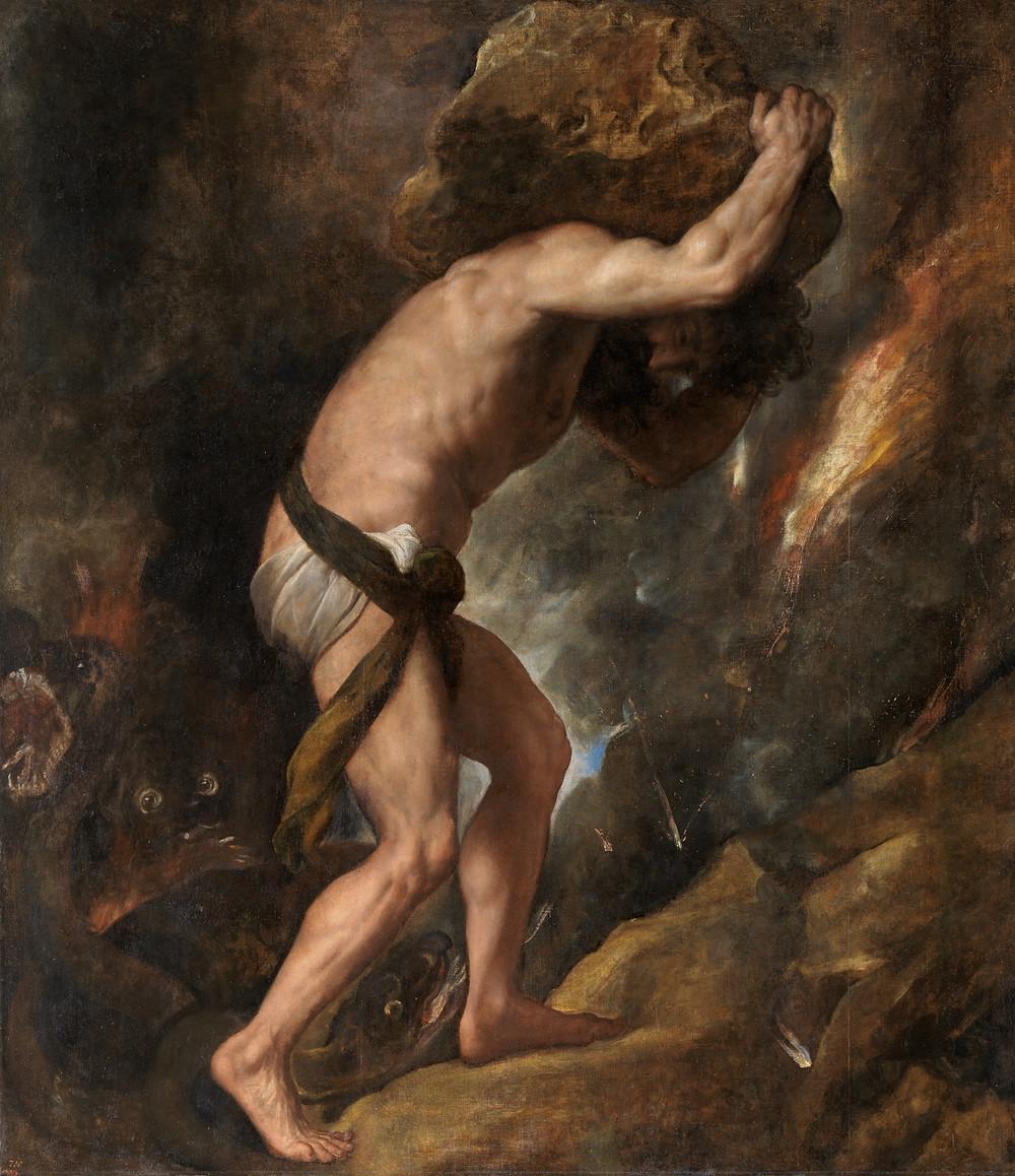 Sísifo, Tiziano | thelosconsulta.com