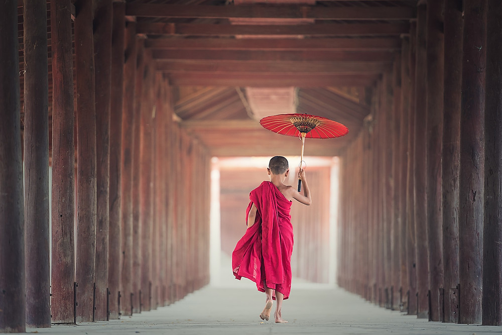 Buddhist Child
