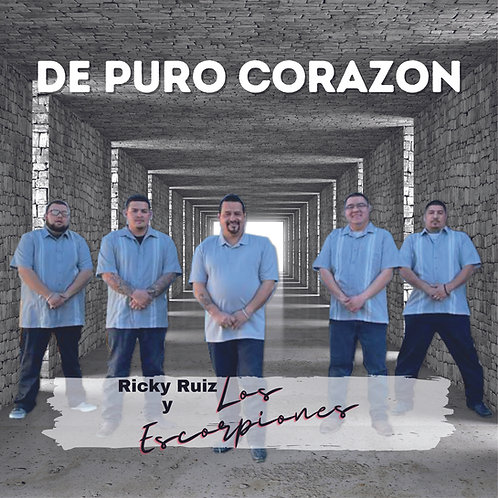 De Puro Corazon   Ricky Ruiz y Los Escorpiones