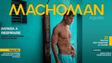 Machoman Graphic by Marco Martucci