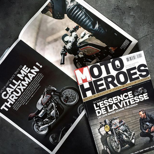 Auto Heroes cover Sacha Lakic cafe racers