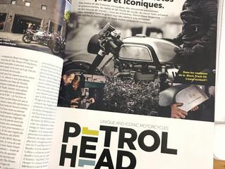 New motorcycle magazine featuring Blacktrack Motors